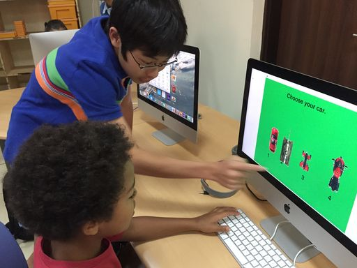 4th Graders Test Educational Computer Games Created by High Schoolers